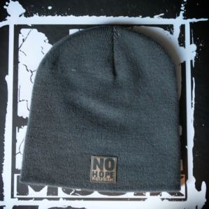 No Hope Musik Beanie Graphite Grey